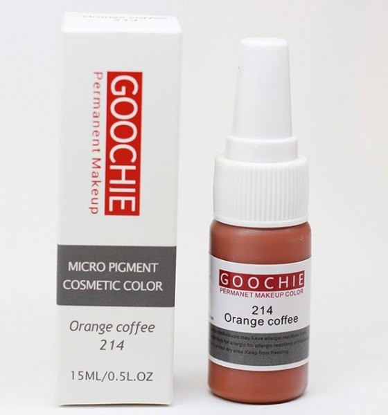 ПИГМЕНТ ДЛЯ ТАТУАЖА GOOCHIE № 214 ORANGE COFFEE