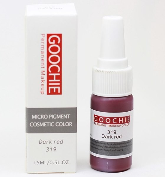 ПИГМЕНТ ДЛЯ ТАТУАЖА GOOCHIE № 319 DARK RED
